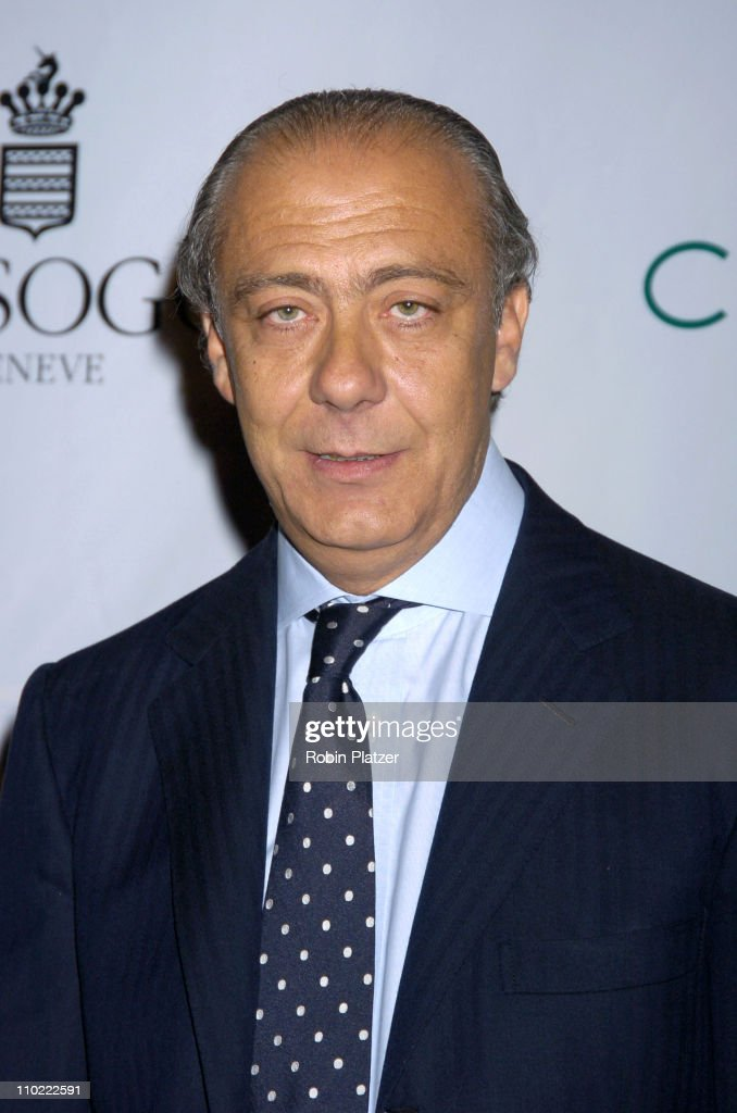 Fawaz Gruosi, President of de Grisogono during The 2005 Wall Street Concert Series Benefiting Wall Street Rising Starring Rod Stewart at Ciprianis Wall Street in New York City, New York, United States.