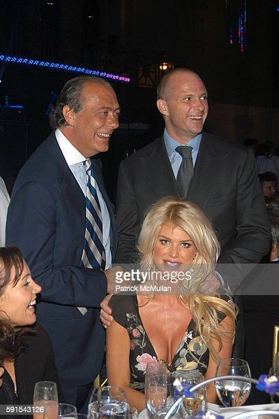 Fawaz Gruosi Victoria Silvstedt and Giuseppe Cipriani attend de Grisogono Sponsors The 2005 Wall Street Concert Series Benefiting Wall Street Rising...