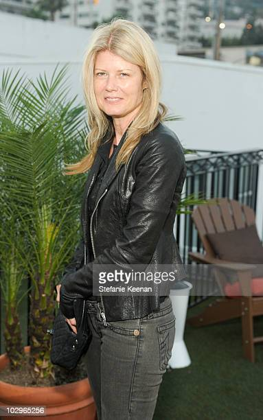 Fawn Hall attends Rooftop Screening of Control at Palihouse Holloway on July 18 2010 in West Hollywood California