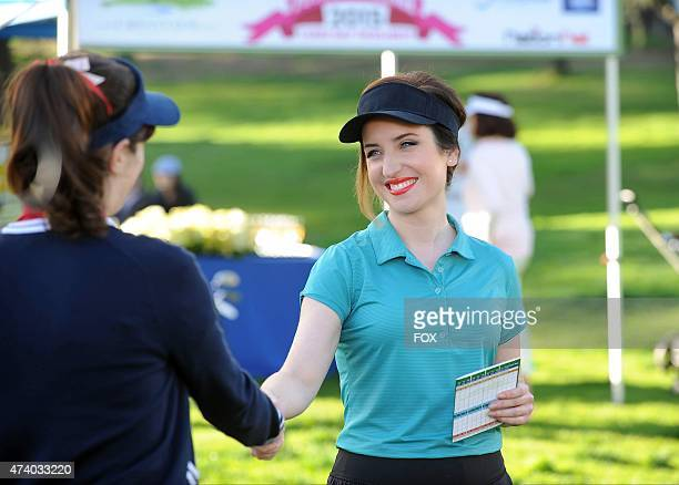 Fawn takes Jess to a charity golf tournament in the 'Par 5' episode of NEW GIRL airing Tuesday April 7 2015 on FOX