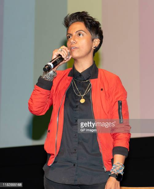 """Fawzia Mirza attends 2019 Inside Out LGBT Film Festival - Screening Of """"Vida"""" at TIFF Bell Lightbox on May 29, 2019 in Toronto, Canada."""