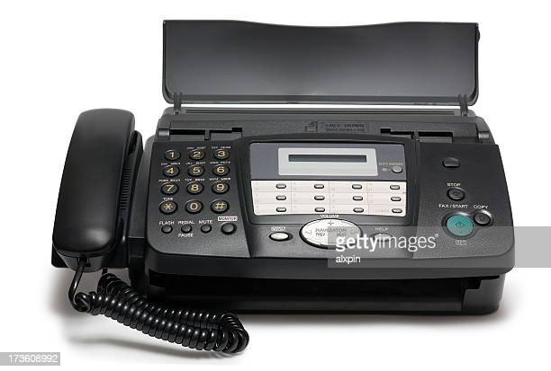 fax machine stock photos and pictures getty images