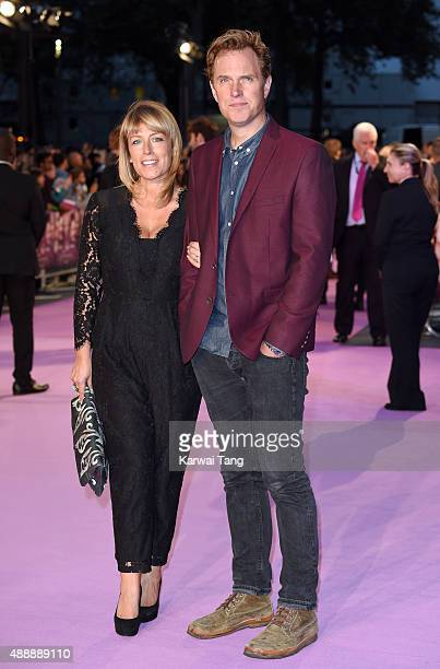 Fay Ripley and Daniel Lapaine attend the European Premiere of Miss You Already at Vue West End on September 17 2015 in London England
