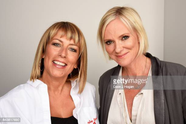 Fay Ripley and Hermione Norris attend the 'Cold Feet' series 7 special screening at The Mondrian Hotel on September 7 2017 in London England