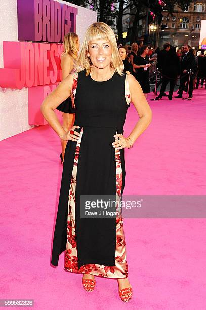Fay Ripley arrives for the world premiere of Bridget Jones's Baby at Odeon Leicester Square on September 5 2016 in London England
