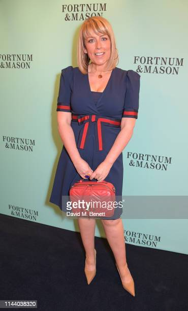 Fay Ripley attends the Fortnum Mason Food and Drink Awards at the Diamond Jubilee Tea Salon in the Piccadilly flagship store on May 16 2019 in London...