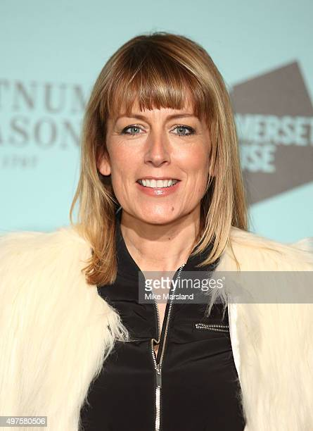 Fay Ripley attends the launch of Skate @ Somerset House at Somerset House on November 17 2015 in London England