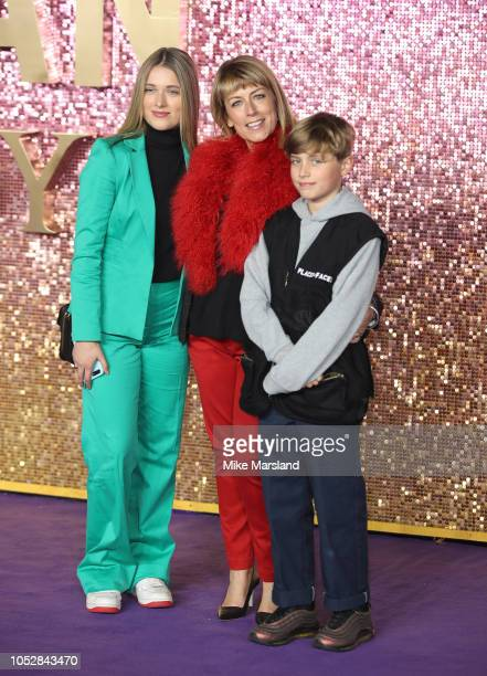 Fay Ripley attends the World Premiere of 'Bohemian Rhapsody' at The SSE Arena Wembley on October 23 2018 in London England