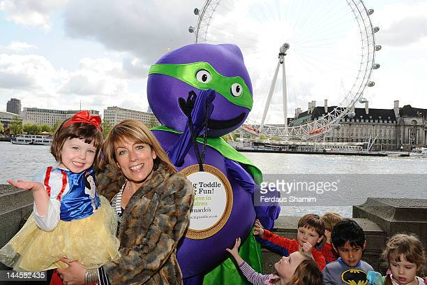 Fay Ripley supports Barnardo's Big Toddle on May 16 2012 in London England