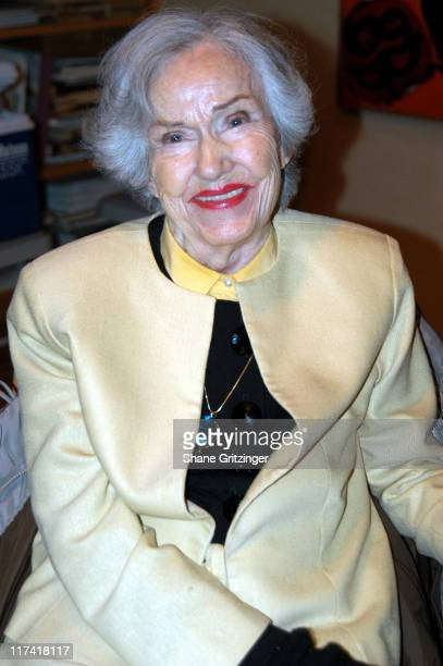 Fay Wray during The 11th Annual Hamptons International Film Festival A Conversation with Fay Wray Betty Comden and Patricia Neal at Guild Hall in...