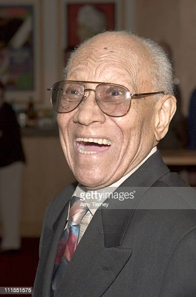 Fayard Nicholas during A Centennial Tribute to Harold Arlen at Academy of Motion Picture Arts and Sciences in Beverly Hills California United States