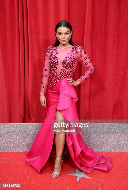 Faye Brookes attends the British Soap Awards 2018 at Hackney Empire on June 2 2018 in London England
