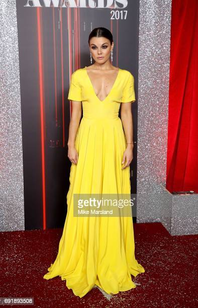 Faye Brookes attends The British Soap Awards at The Lowry Theatre on June 3 2017 in Manchester England The Soap Awards will be aired on June 6 on ITV...