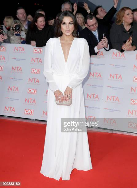 Faye Brookes attends the National Television Awards 2018 at the O2 Arena on January 23 2018 in London England