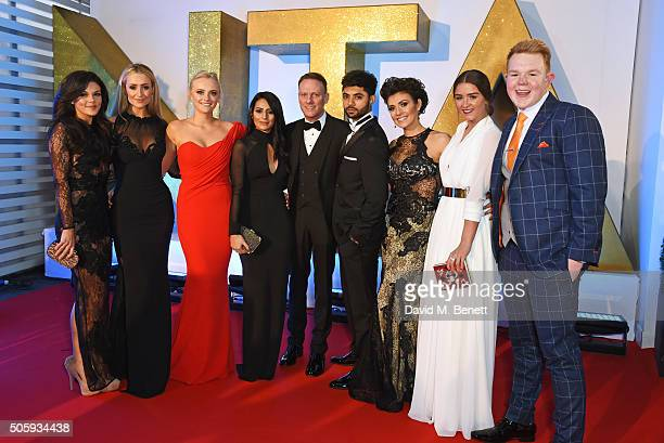 Faye Brookes Catherine Tyldesley Katie McGlynn Sair Khan Antony Cotton Qasim Akhtar Kym Marsh Brooke Vincent and Colson Smith attend the 21st...