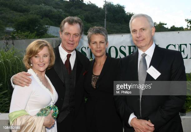 Faye Collins Stephen Collins Jamie Lee Curtis and Christopher Guest