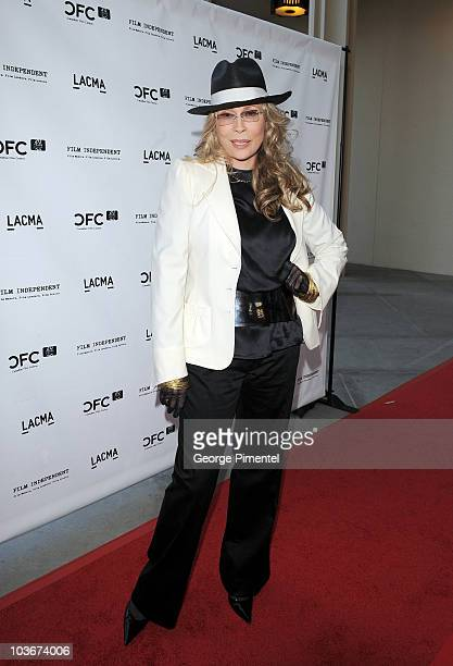 "Faye Dunaway attends ""A Tribute to Norman Jewison"" presented by CFC and Film Independent at LACMA on April 17, 2009 in Los Angeles, California."