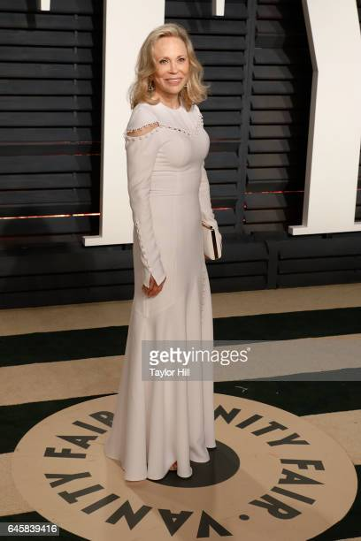Faye Dunaway attends the 2017 Vanity Fair Oscar Party at Wallis Annenberg Center for the Performing Arts on February 26 2017 in Beverly Hills...