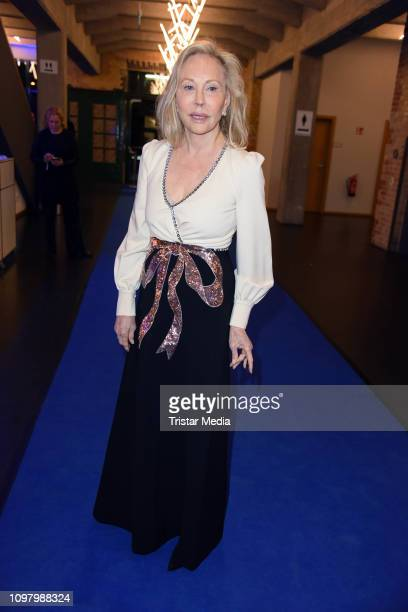 Faye Dunaway attends the Cinema for Peace gala during 69th Berlinale International Film Festival at WECC - Westhafen Event & Convention Center on...