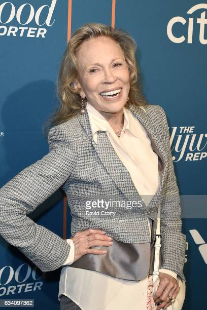 Faye Dunaway attends The Hollywood Reporter 5th Annual Nominees Night Arrivals at Spago on February 6 2017 in Beverly Hills California