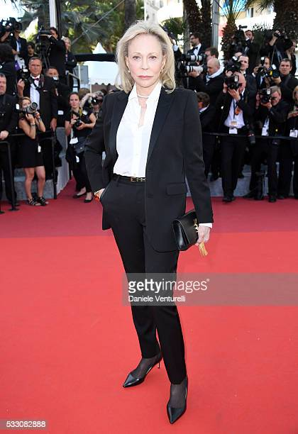 Faye Dunaway attends 'The Last Face' Premiere during the 69th annual Cannes Film Festival at the Palais des Festivals on May 20 2016 in Cannes France