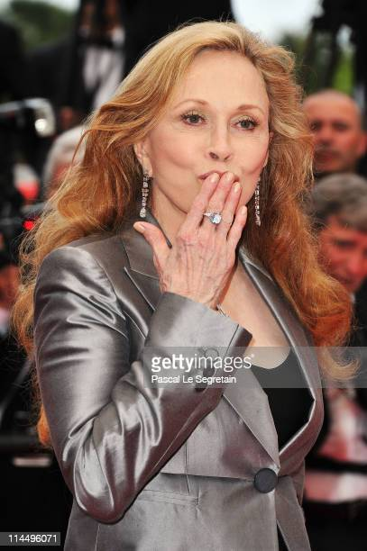 Faye Dunaway attends the 'Les BienAimes' premiere at the Palais des Festivals during the 64th Cannes Film Festival on May 22 2011 in Cannes France