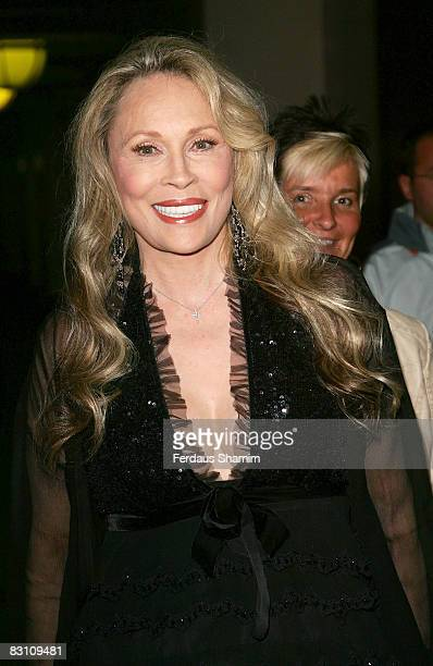Faye Dunaway attends the screening of Flick at Raindance Film Festival 2008 at Cineworld on October 3 2008 in London England