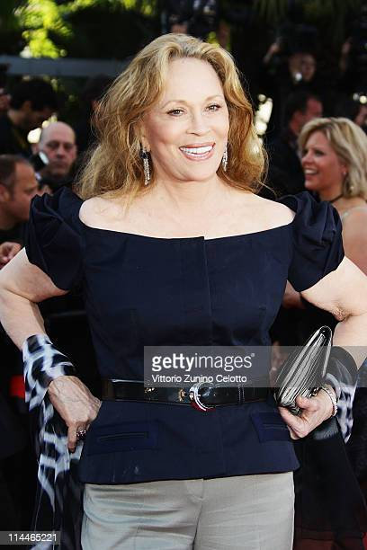 Faye Dunaway attends the This Must Be The Place premiere during the 64th Annual Cannes Film Festival at Palais des Festivals on May 20 2011 in Cannes...