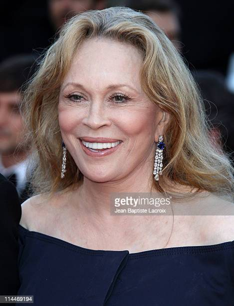 Faye Dunaway attends the 'This Must Be The Place' Premiere during the 64th Cannes Film Festival at Palais des Festivals on May 20 2011 in Cannes...