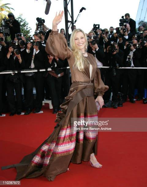 Faye Dunaway during 2006 Cannes Film Festival 'Marie Antoinette' Premiere at Palais des Festival in Cannes France