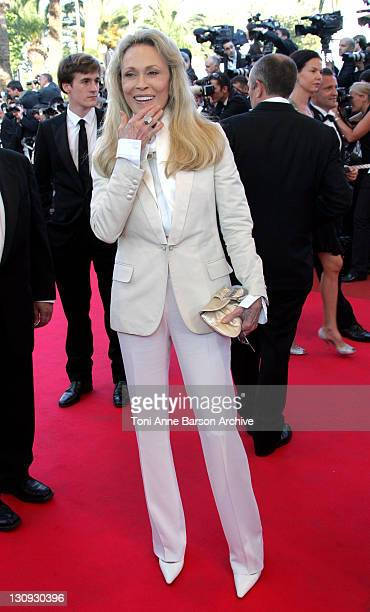 Faye Dunaway during 2007 Cannes Film Festival 'Chacun Son Cinema' All Directors Premiere at Palais des Festival in Cannes France