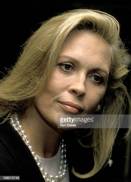 Faye Dunaway during 4th Annual American Cinematheque Awards Salutes Steven Spielberg at Century Plaza Hotel in Los Angeles California United States