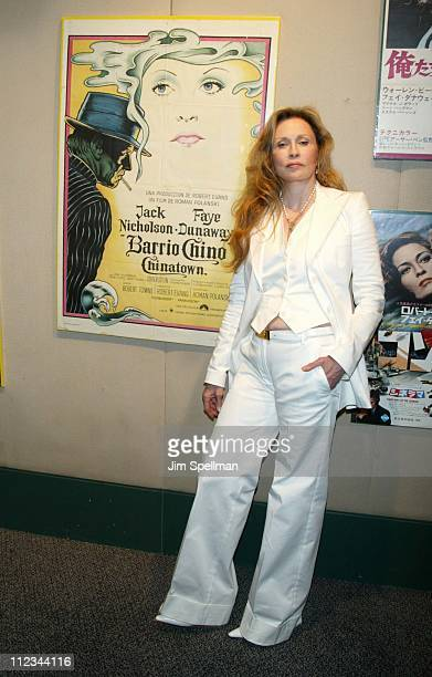 Faye Dunaway during A Celebration For Faye Dunaway On The Occasion Of Her Writing Directorial Debut Film The Yellow Bird at Walter Reade Theater At...