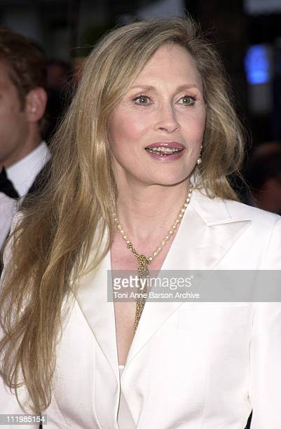 Faye Dunaway during Cannes 2002 'The Pianist' Premiere at Palais des Festivals in Cannes France