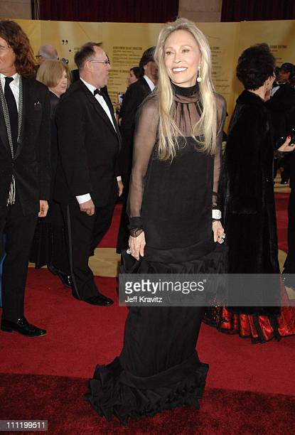 Faye Dunaway during The 79th Annual Academy Awards Arrivals at Kodak Theatre in Hollywood California United States