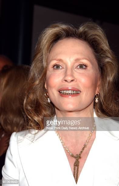 """Faye Dunaway is on hand at Walter Reade Theater for the Film Society of Lincoln Center's screening of """"The Yellow Bird,"""" which will premiere on WE:..."""