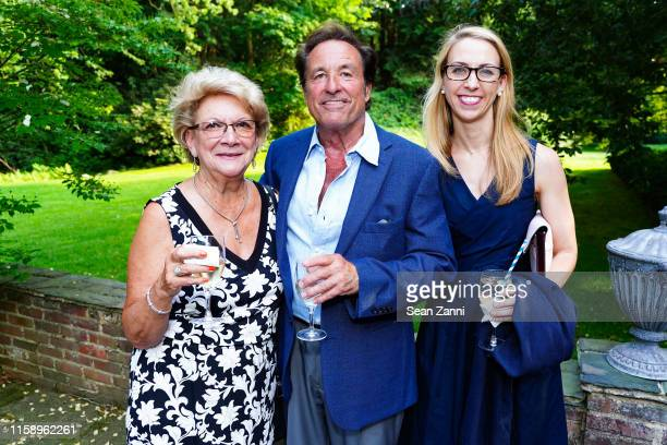 Faye Fortunato Mathew Fortunato and Tracy Pfaff attend A Country House Gathering To Benefit Preservation Long Island on June 28 2019 in Locust Valley...