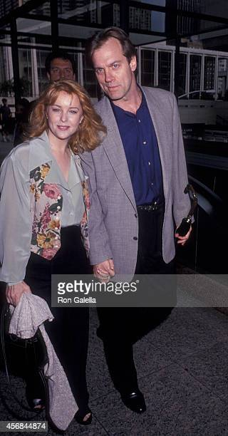 Faye Grant and Stephen Collins attend the premiere of Chantilly Lace on June 15 1993 at Walter Reade Theater at Lincoln Center in New York City