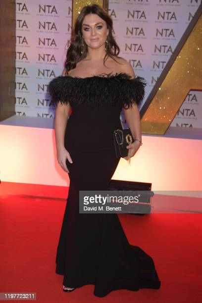 Faye McKeever attends the National Television Awards 2020 at The O2 Arena on January 28 2020 in London England