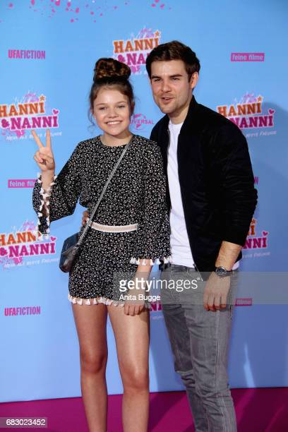 Faye Montana and Lukas Reimer attends the premiere of the film 'Hanni & Nanni - Mehr als beste Freunde' at Kino in der Kulturbrauerei on May 14, 2017...