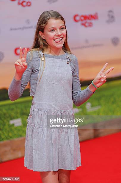 Faye Montana attends Conni&Co World Premiere at Cinestar Potsdamer Platz on August 13, 2016 in Berlin, Germany.
