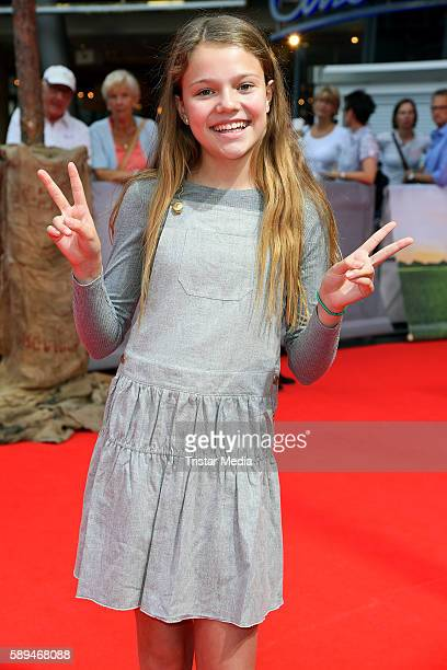 Faye Montana attends the 'Conni&Co' Berlin Premiere on August 13, 2016 in Berlin, Germany.
