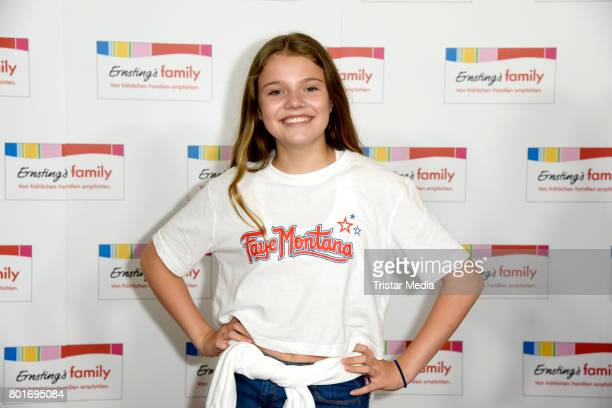Faye Montana attends the Ernsting's Family Fashion Show at Stage Operettenhaus on June 26 2017 in Hamburg Germany