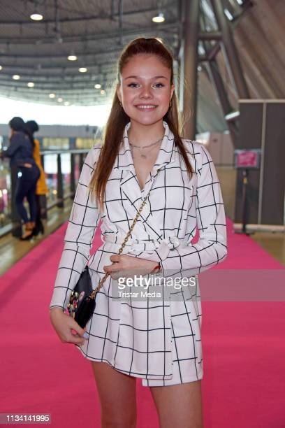 Faye Montana attends the 'GLOW The Beauty Convention' on March 31 2019 in Stuttgart Germany