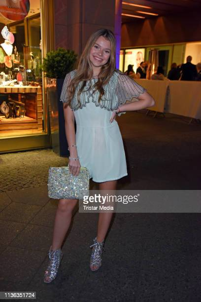 Faye Montana attends the Shirin David birthday party Iced Out on April 11 2019 in Berlin Germany