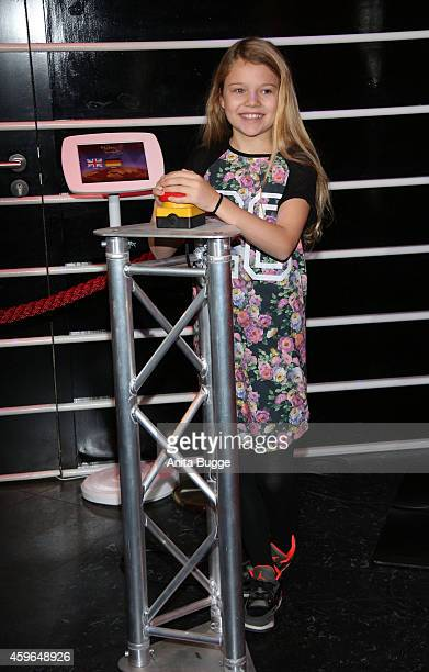 Faye Montana attends the unveiling of the Selena Gomez wax figure at Madame Tussauds on November 27 2014 in Berlin Germany