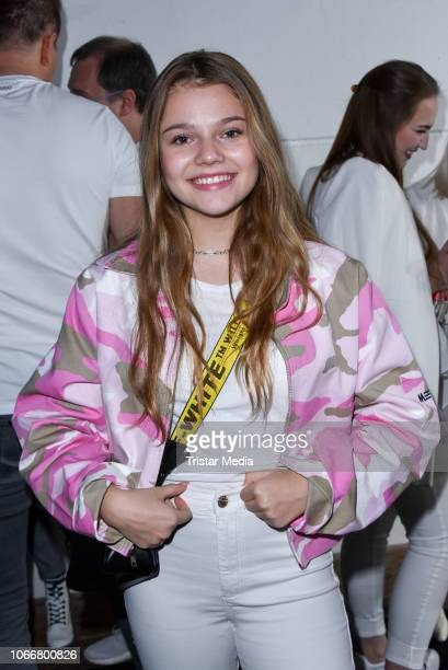 Faye Montana Briest during the launch of Beetique by Dagi Bee at Spindler & Klatt on November 29, 2018 in Berlin, Germany.