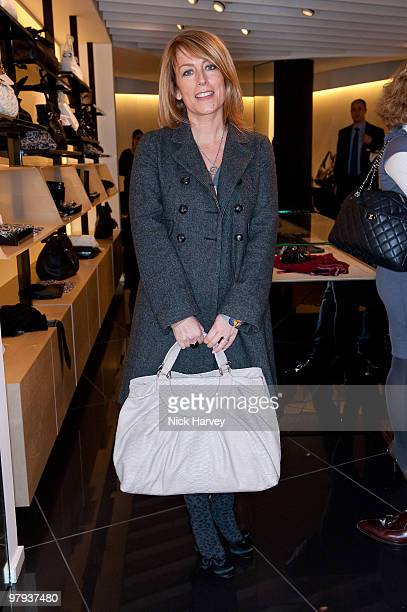 Faye Ripley attends the Furla handbags first birthday party on November 19 2009 in London England