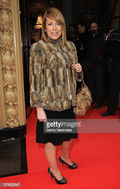 Faye Ripley attends the Tesco Magazine Mum of the Year Awards at The Waldorf Hilton Hotel on February 27 2011 in London England