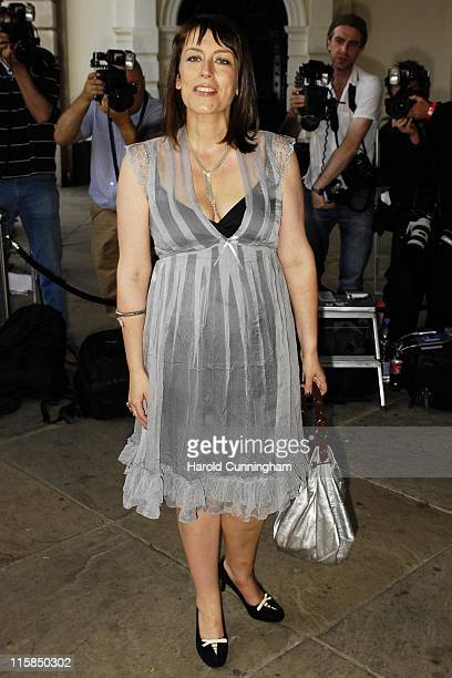 Faye Ripley during Marks Spencer Autumn/Winter 2007 Preview – Outside Arrivals at One Piazza in London Great Britain
